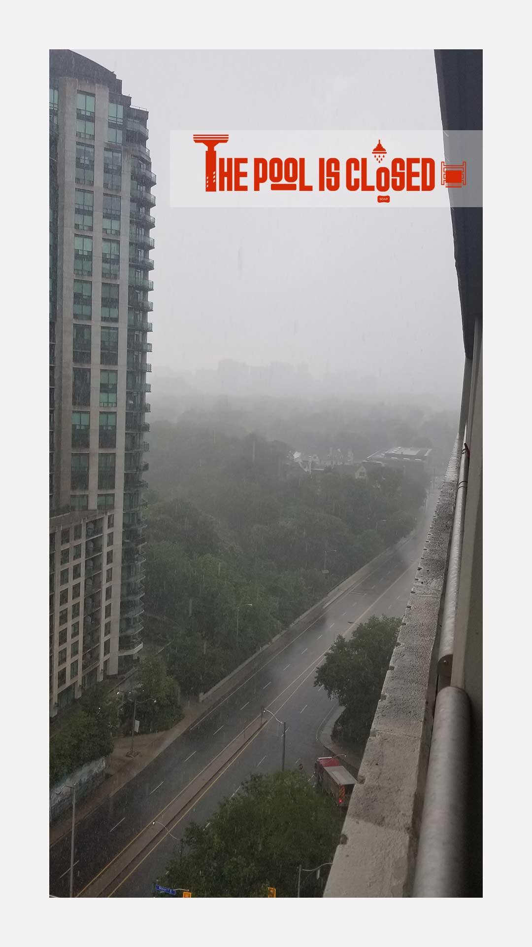 RAIN STORM IN TORONTO - TURNIPSTYLE.COM